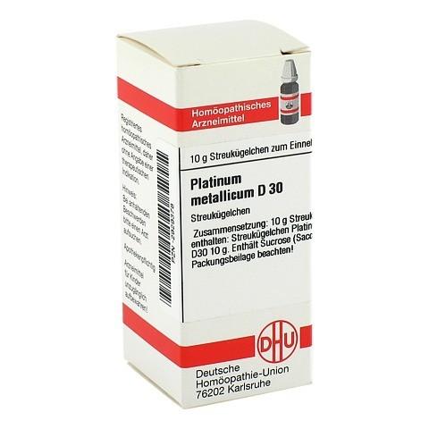 PLATINUM METALLICUM D 30 Globuli 10 Gramm N1
