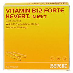VITAMIN B12 Hevert forte Injekt Ampullen 100x2 Milliliter - Vorderseite