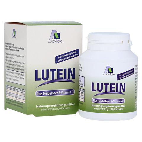 LUTEIN Kapseln 6 mg+Heidelbeer 120 St�ck