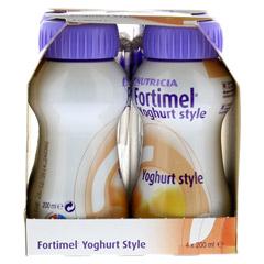 FORTIMEL Yoghurt Style Pfirsich Orangegeschmack 4x200 Milliliter - Rechte Seite
