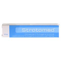 STRATAMED filmbildende Wundauflage Gel 20 Gramm - Rückseite