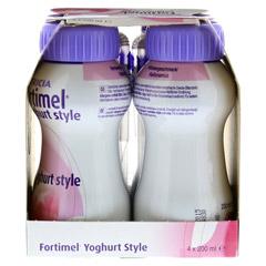 FORTIMEL Yoghurt Style Himbeergeschmack 4x200 Milliliter - Rechte Seite