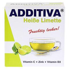 ADDITIVA heiße Limette Pulver 120 Gramm - Vorderseite