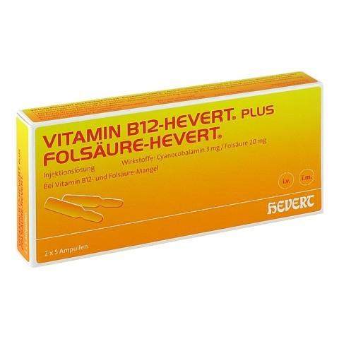 Vitamin B12 Fols�ure Hevert Amp.-Paare 2x5 St�ck N1