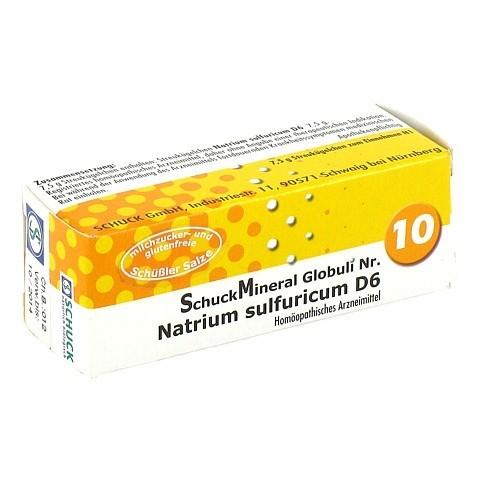 SCHUCKMINERAL Globuli 10 Natrium sulfuricum D6 7.5 Gramm