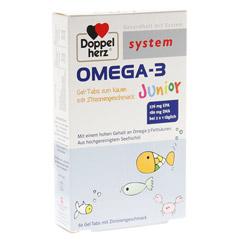 DOPPELHERZ Omega 3 Junior Gel Tabs system Kautabl. 60 St�ck
