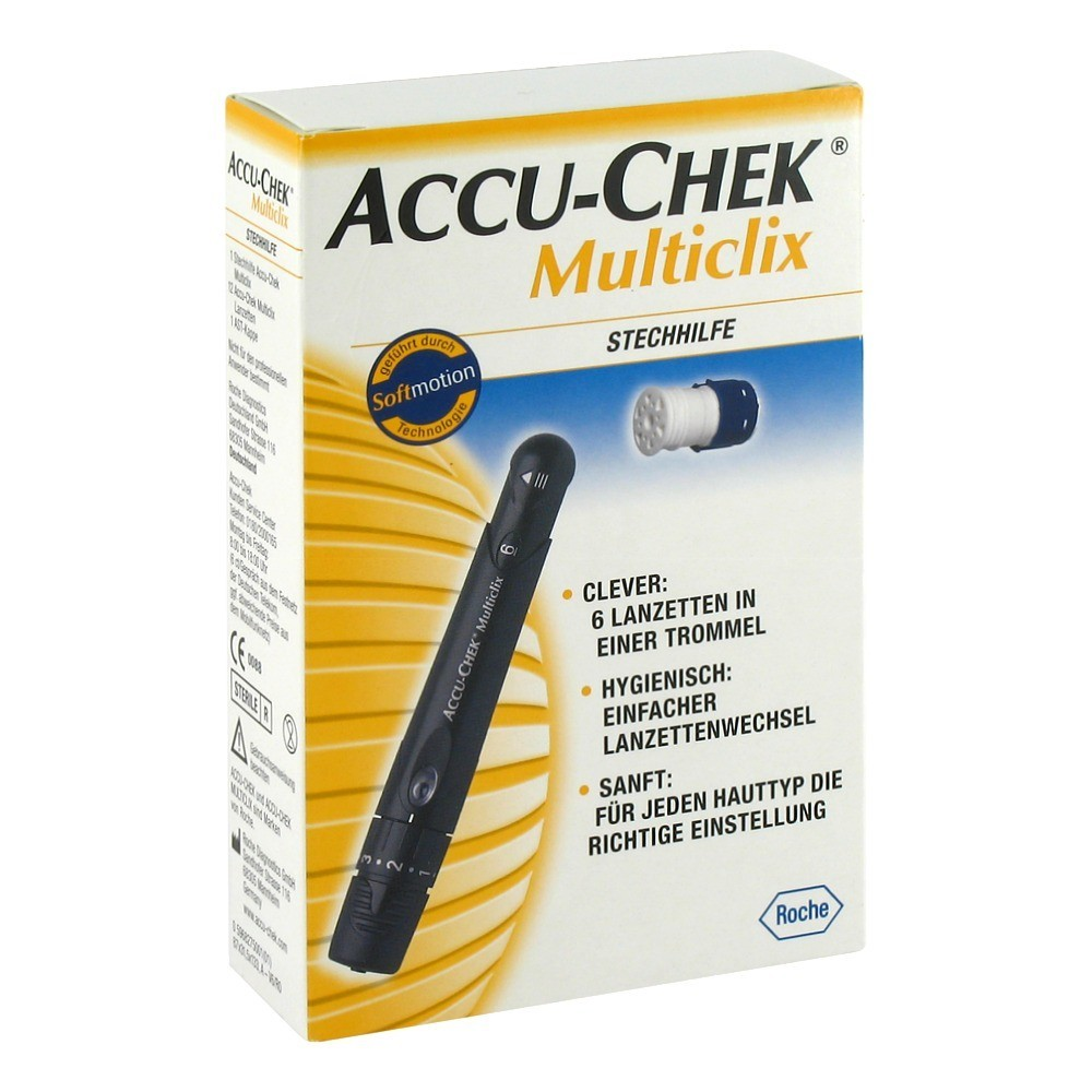 accu chek multiclix how to use