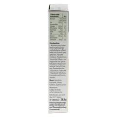 TAXOFIT Vitamin C 500 Depot Tabletten 40 Stück - Linke Seite