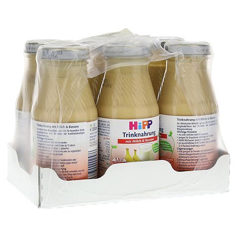 HIPP Trinknahrung Milch m.Banane hochkalorisch 6x200 Milliliter