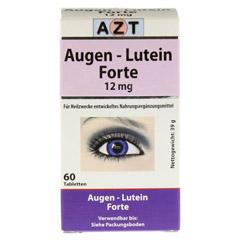 AUGEN LUTEIN Forte Tabletten 60 St�ck - Vorderseite