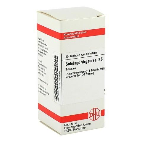 SOLIDAGO VIRGAUREA D 6 Tabletten 80 Stück N1