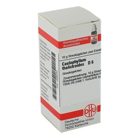 CAULOPHYLLUM THALICTROIDES D 6 Globuli 10 Gramm N1