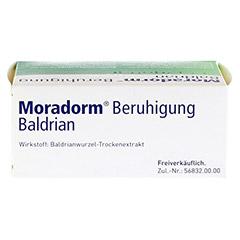 Moradorm Beruhigung Baldrian 100 St�ck - Oberseite