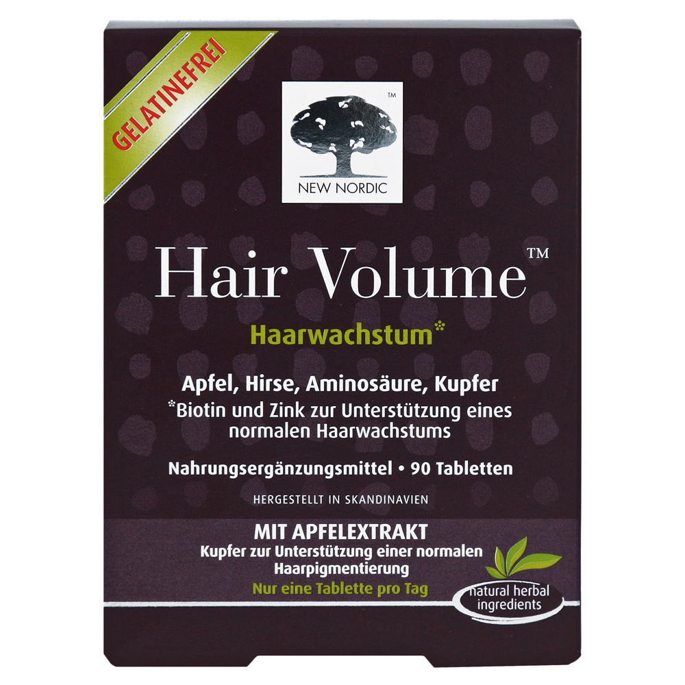 Erfahrungen zu HAIR VOLUME Tabletten 90 Stück - medpex ...