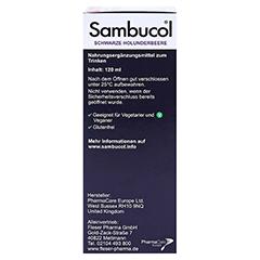 SAMBUCOL Saft für Kinder 120 Milliliter - Rechte Seite