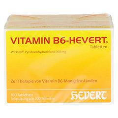 VITAMIN B6 Hevert Tabletten 200 Stück - Vorderseite