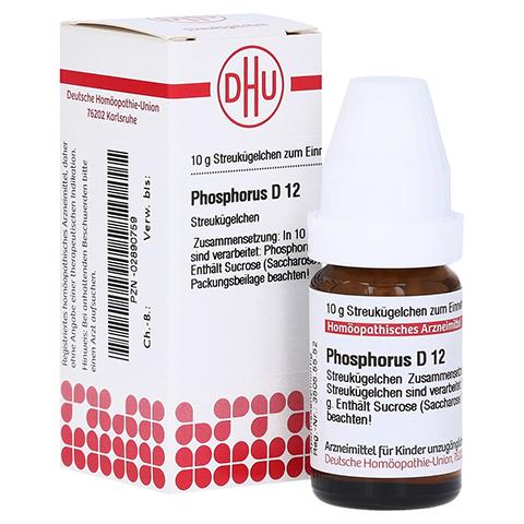 PHOSPHORUS D 12 Globuli 10 Gramm N1