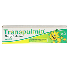 TRANSPULMIN Baby Balsam mild 40 Milliliter - Vorderseite