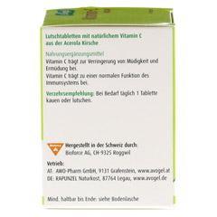 VITAMIN C Lutschtabletten A.Vogel 40 St�ck - Linke Seite