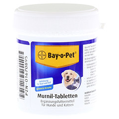 BAY O PET Murnil Tabletten f.Hunde/Katzen 80 St�ck