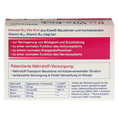 TETESEPT B12 Vita-Kick Trinkampullen 7 St�ck - R�ckseite