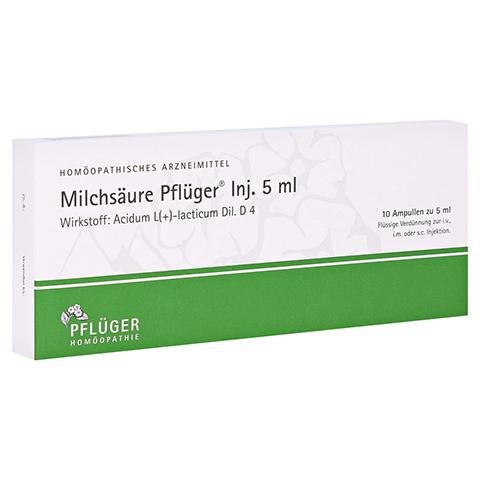 MILCHSÄURE Pflüger Injektionslösung 5 ml 10 Stück