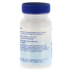 VITAMIN B1 3,0 mg Junek Kapseln 60 St�ck - Linke Seite