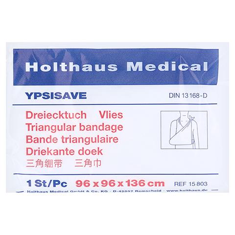 DREIECKTUCH Ypsisave 96x96x136 cm Vlies 1 Stück