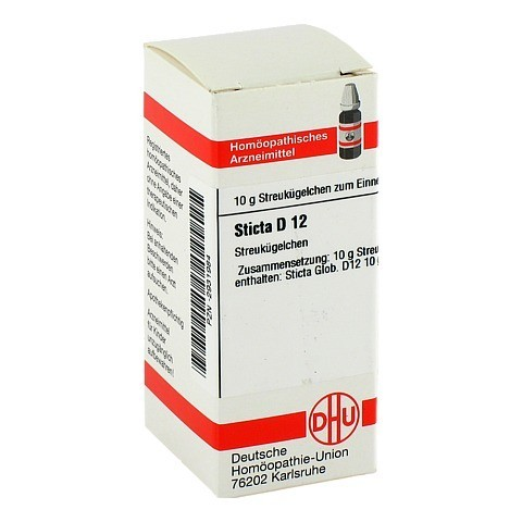STICTA D 12 Globuli 10 Gramm N1