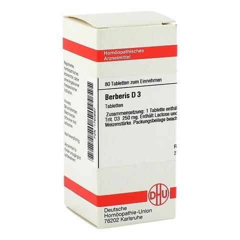 BERBERIS D 3 Tabletten 80 St�ck N1