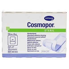 COSMOPOR steril 5x7,2 cm 10 Stück - Vorderseite