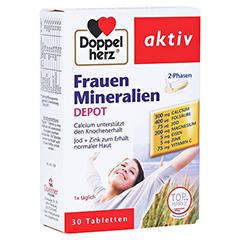 DOPPELHERZ Frauen Mineralien Depot Tabletten 30 Stück