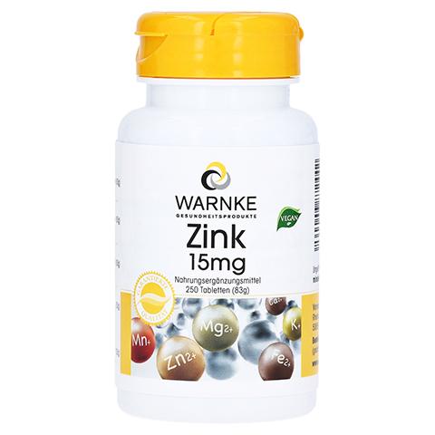 ZINK 15 mg Tabletten 250 Stück