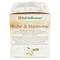 BAD HEILBRUNNER Kräutertee Ruhe & Harmonie Fbtl. 20 Stück - Rechte Seite