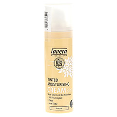 LAVERA Tinted Moisturising cream 3in1 natural 30 Milliliter