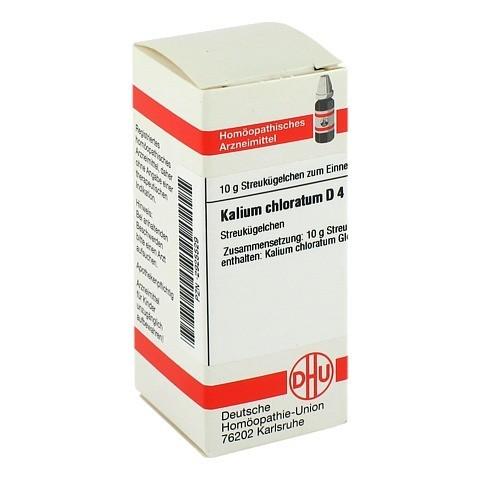 KALIUM CHLORATUM D 4 Globuli 10 Gramm N1