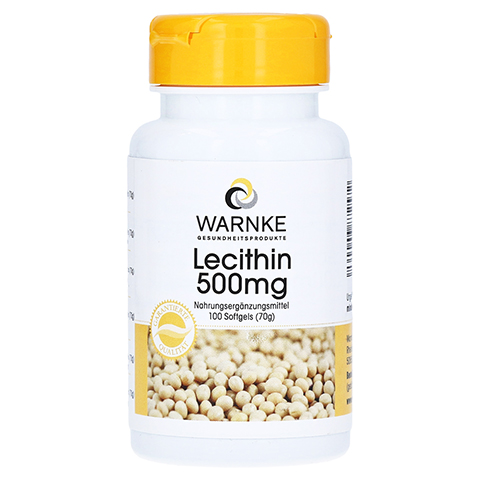 LECITHIN 500 mg Kapseln 100 Stück