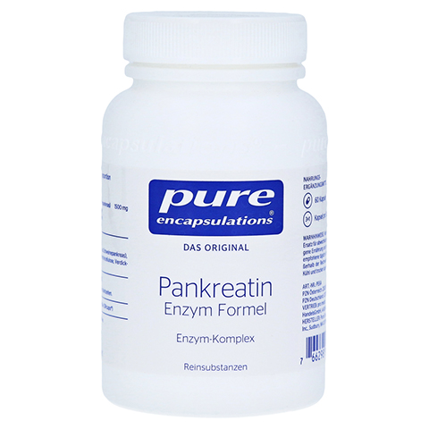PURE ENCAPSULATIONS Pankreatin Enzym Formel Kaps. 60 St�ck
