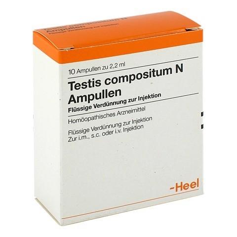 TESTIS COMPOSITUM N Ampullen 10 Stück N1