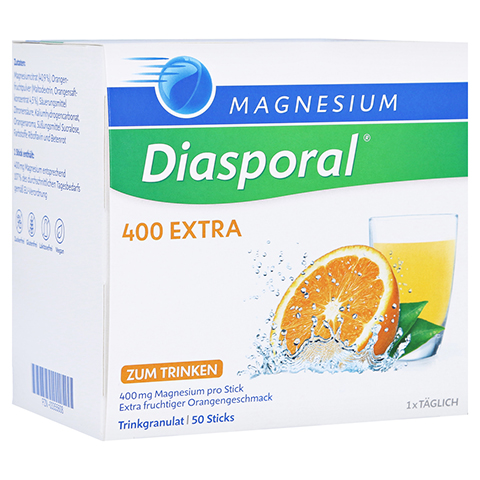 MAGNESIUM DIASPORAL 400 Extra Trinkgranulat 50 St�ck