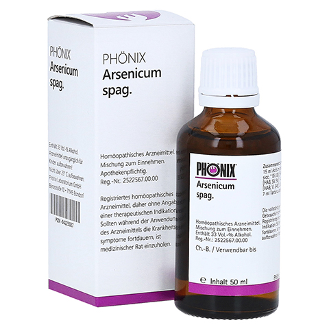 PH�NIX ARSENICUM spag. Tropfen 50 Milliliter N1