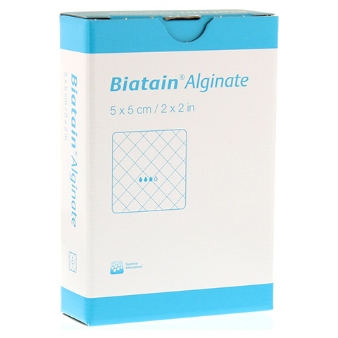 BIATAIN Alginate Kompressen 5x5 cm 10 Stück