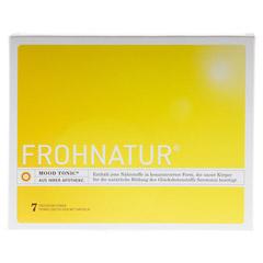 FROHNATUR Mood Tonic Trinkfl�schen m.Kapseln 7 St�ck - Vorderseite