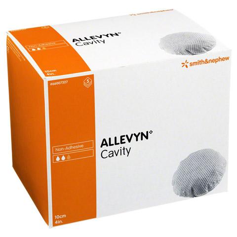 ALLEVYN Cavity 10 cm hydrozell.Kis.f.tiefe Wun. 5 Stück