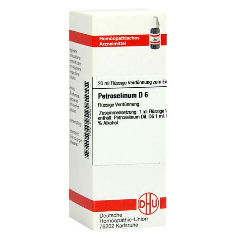 PETROSELINUM D 6 Dilution 20 Milliliter N1