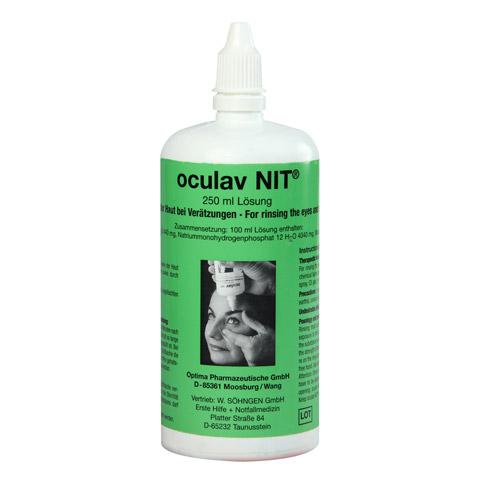 OCULAV NIT Sterillösung Einzelflasche 250 Milliliter