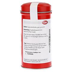 HAGEBUTTEN PULVER Caelo HV-Packung Blechdose 90 Gramm - Rechte Seite