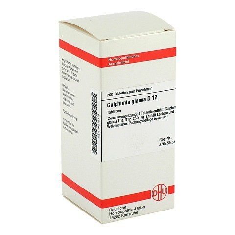 GALPHIMIA GLAUCA D 12 Tabletten 200 St�ck N2