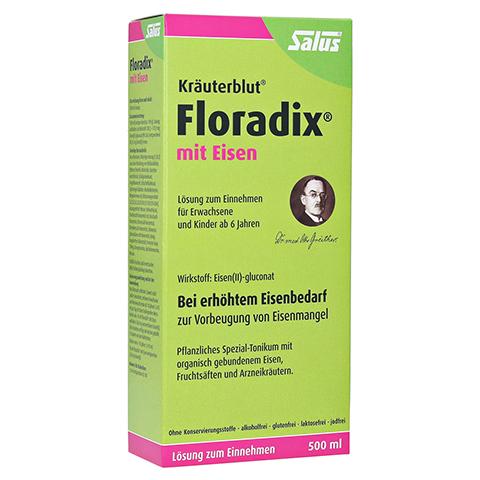 Floradix mit Eisen 500 Milliliter