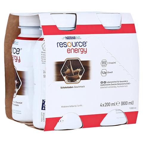 RESOURCE Energy Schokolade 4x200 Milliliter